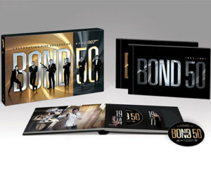 Box Set de James Bond por 50 aniversario