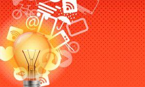 Buenas ideas emanan de un foco encendido