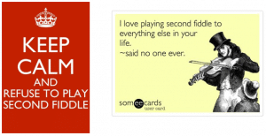 Second fiddle captions