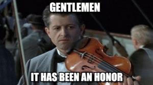 Ha sido un honor...