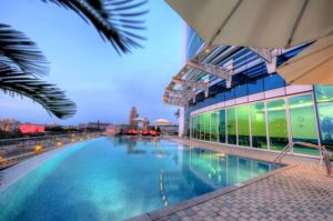 Indoor pool hotel inglés británico