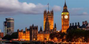 Big Ben en Londres de noche