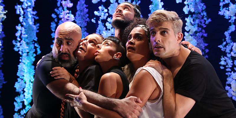 Actores de Orlando en el Teatro Británico