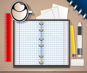 Cuaderno para anotaciones de phrasal verbs